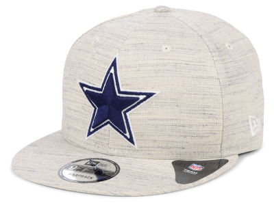 Dallas Cowboys New Era NFL Luxe Gray 9FIFTY Snapback Cap 4223ffecc