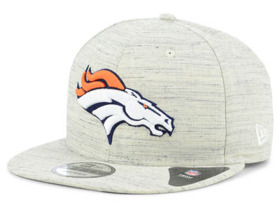 Denver Broncos New Era NFL Luxe Gray 9FIFTY Snapback Cap