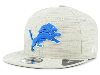 Detroit Lions New Era NFL Luxe Gray 9FIFTY Snapback Cap
