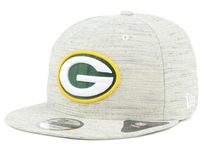 Green Bay Packers New Era NFL Luxe Gray 9FIFTY Snapback Cap