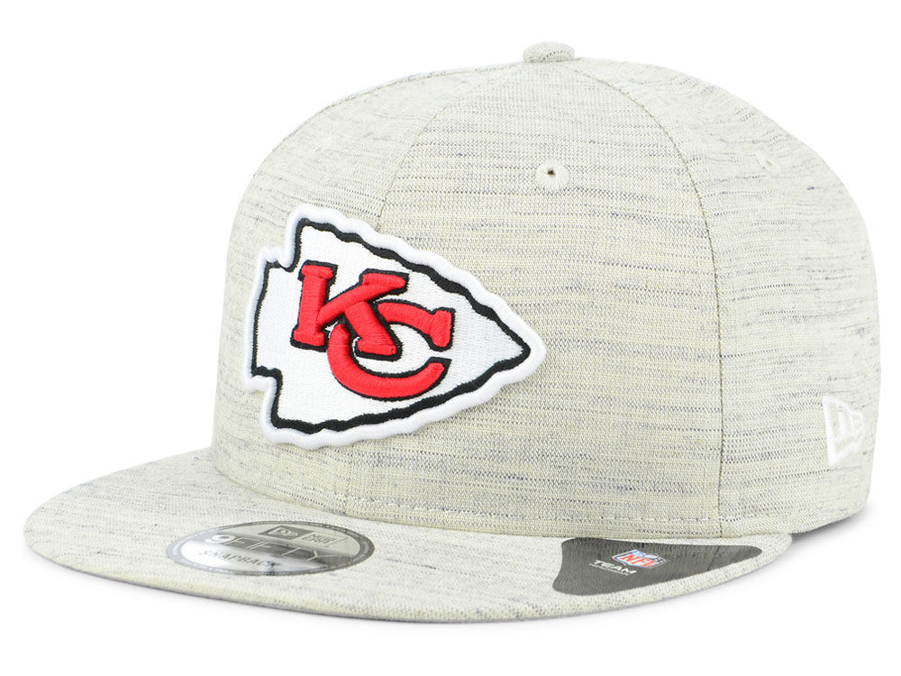e562195753d Kansas City Chiefs New Era NFL Luxe Gray 9FIFTY Snapback Cap