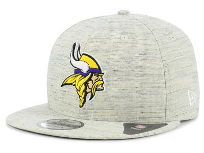 Minnesota Vikings New Era NFL Luxe Gray 9FIFTY Snapback Cap 85d136a93