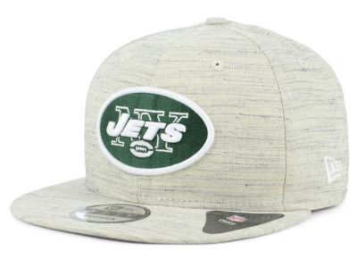 New York Jets New Era NFL Luxe Gray 9FIFTY Snapback Cap