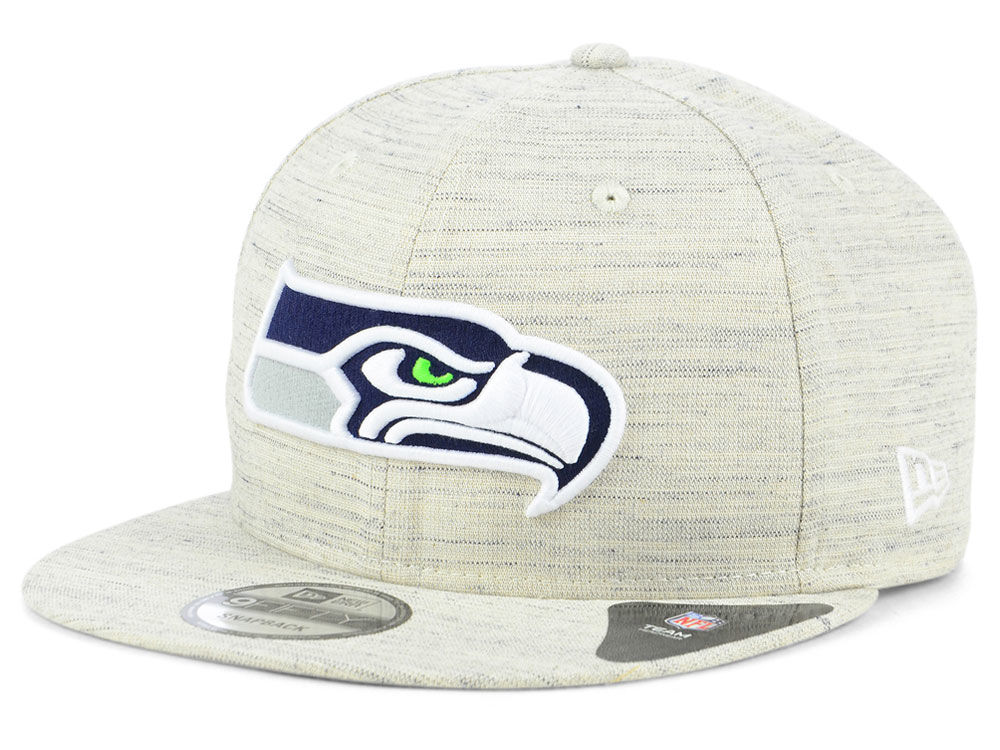 ab20762fe Seattle Seahawks New Era NFL Luxe Gray 9FIFTY Snapback Cap