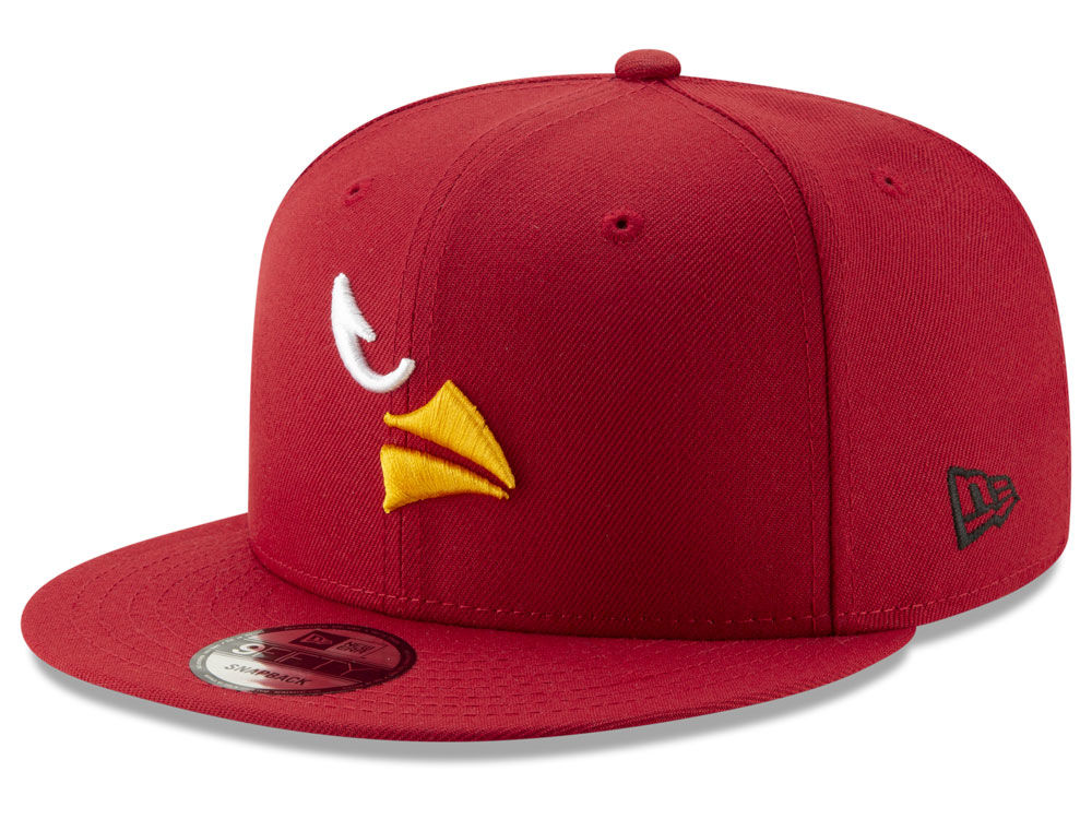 Arizona Cardinals New Era NFL Logo Elements Collection 9FIFTY Snapback Cap   c396df7fbfa3