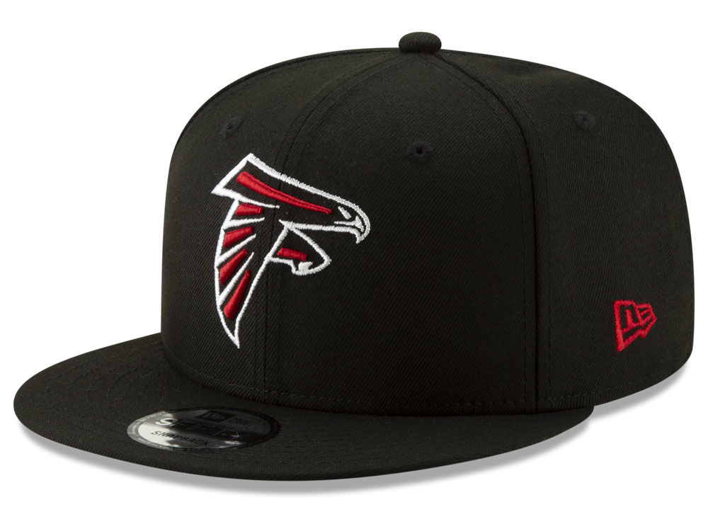 fc4e51b74c9 Atlanta Falcons New Era NFL Logo Elements Collection 9FIFTY Snapback Cap