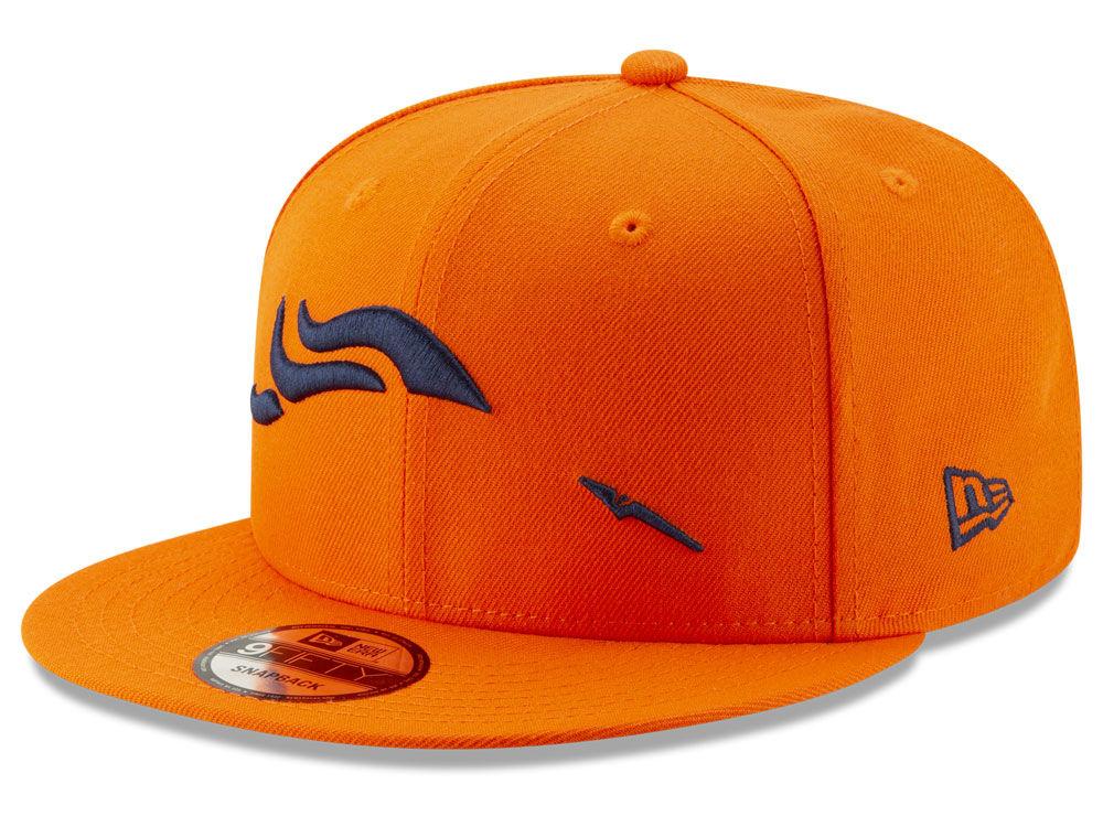 Denver Broncos New Era Nfl Logo Elements Collection 9fifty Snapback