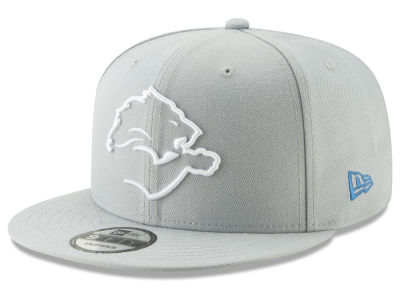 Detroit Lions New Era NFL Logo Elements Collection 9FIFTY Snapback Cap