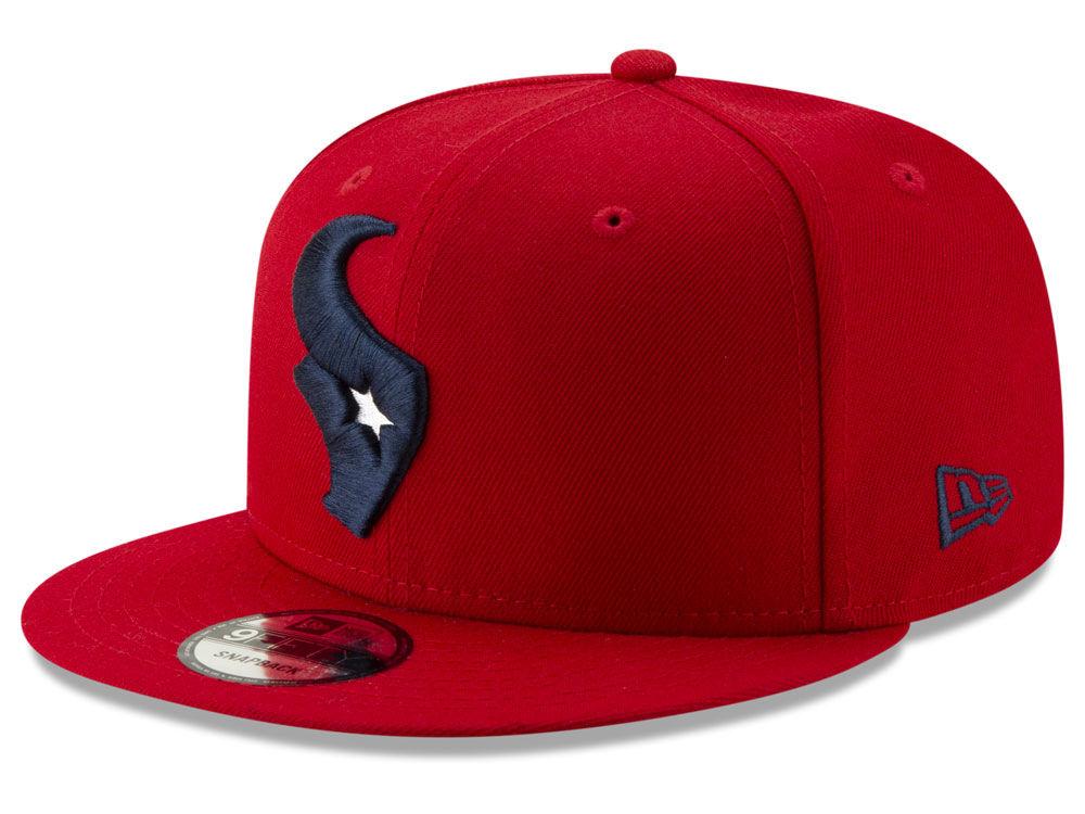 330f7614e Houston Texans New Era NFL Logo Elements Collection 9FIFTY Snapback Cap