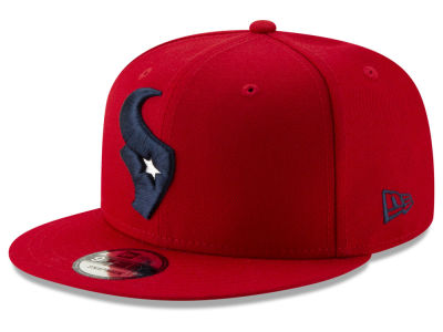Houston Texans New Era NFL Logo Elements Collection 9FIFTY Snapback Cap