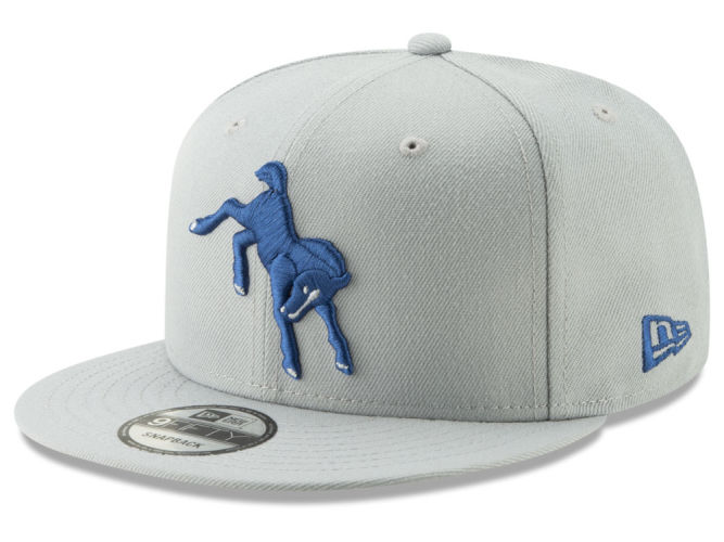 Indianapolis Colts New Era NFL Logo Elements Collection 9FIFTY Snapback Cap   b2075c010c0