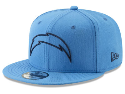 Los Angeles Chargers New Era NFL Logo Elements Collection 9FIFTY Snapback  Cap 3716829a2f5