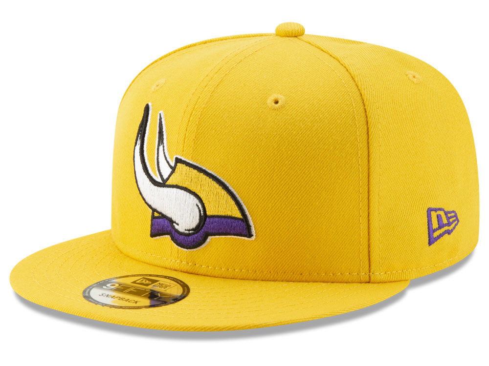 Minnesota Vikings New Era NFL Logo Elements Collection 9FIFTY Snapback Cap   4846e2d0d29
