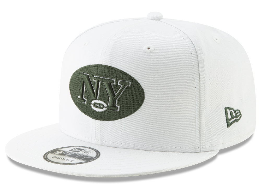 1d73d770b66 New York Jets New Era NFL Logo Elements Collection 9FIFTY Snapback Cap