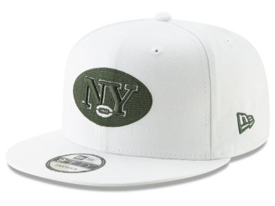 New York Jets New Era NFL Logo Elements Collection 9FIFTY Snapback Cap