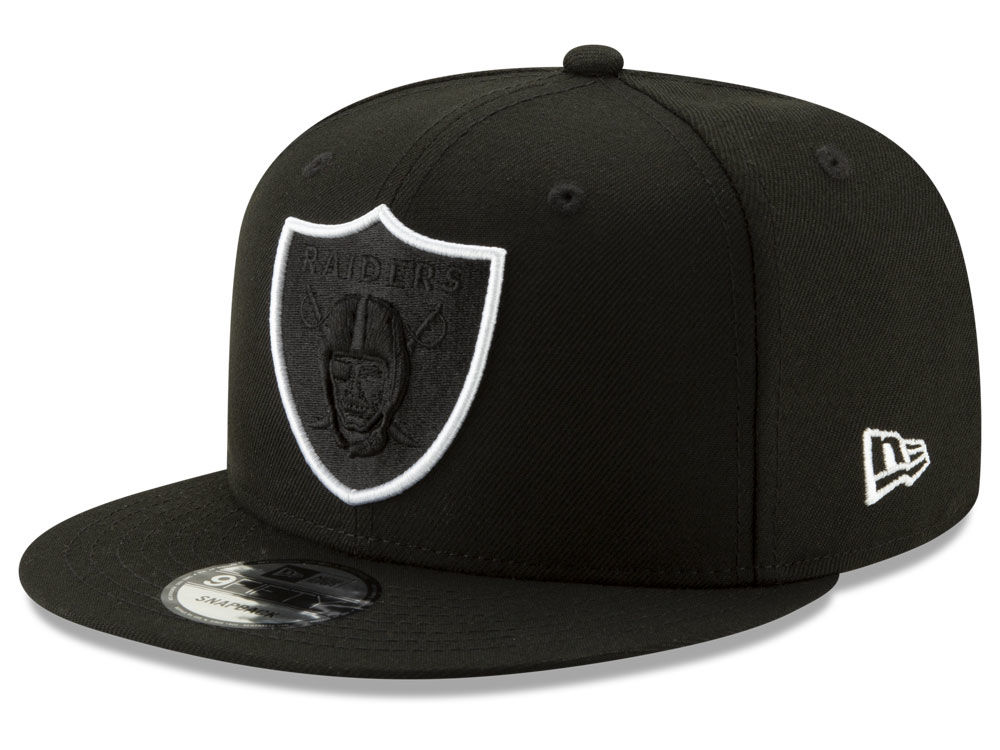 Oakland Raiders New Era NFL Logo Elements Collection 9FIFTY Snapback Cap  2233aa716