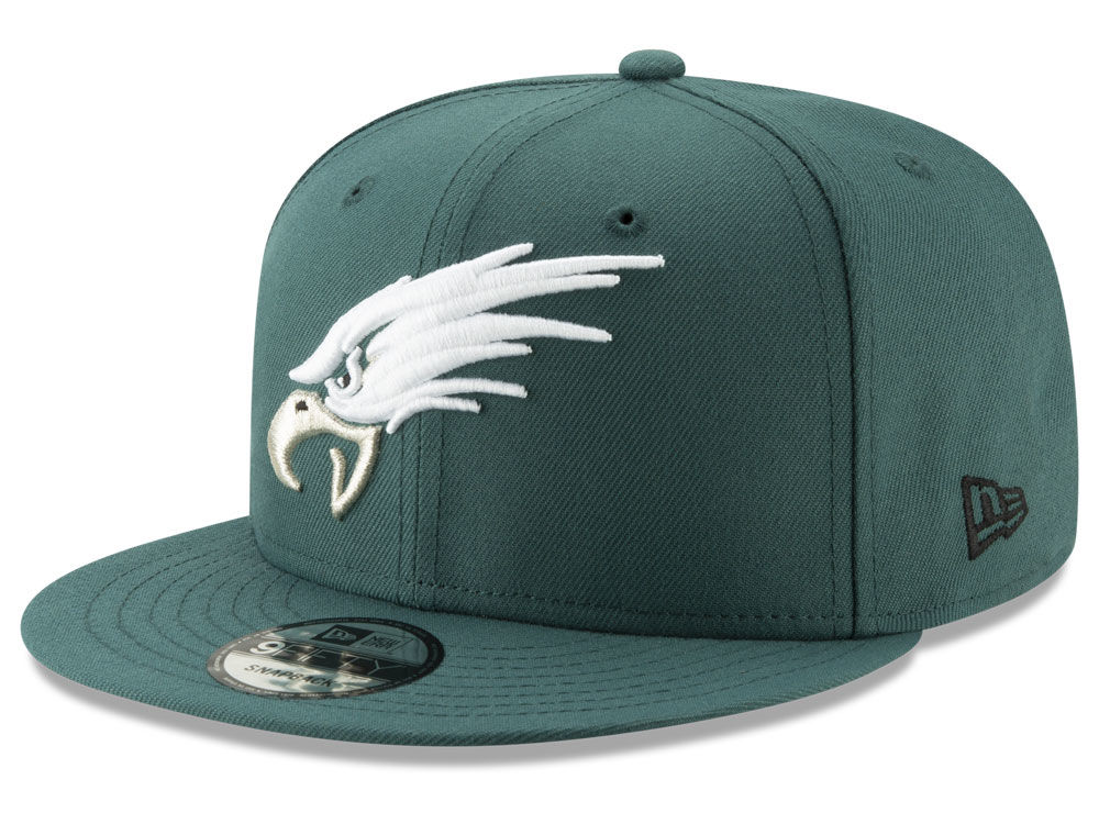 f3308838f83 Philadelphia Eagles New Era NFL Logo Elements Collection 9FIFTY Snapback  Cap