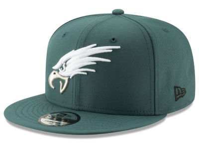 Philadelphia Eagles New Era NFL Logo Elements Collection 9FIFTY Snapback Cap