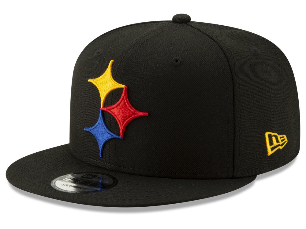 b36f53474d5 Pittsburgh Steelers New Era NFL Logo Elements Collection 9FIFTY Snapback Cap