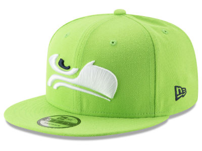 Seattle Seahawks New Era NFL Logo Elements Collection 9FIFTY Snapback Cap