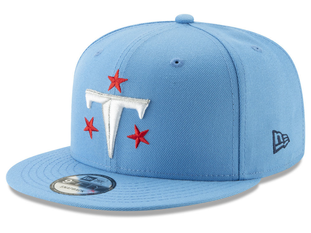 345eefb135d Tennessee Titans New Era NFL Logo Elements Collection 9FIFTY Snapback Cap