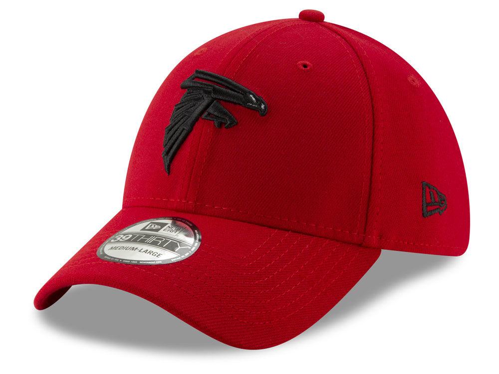 18650319f Atlanta Falcons New Era NFL Logo Elements Collection 39THIRTY Cap ...