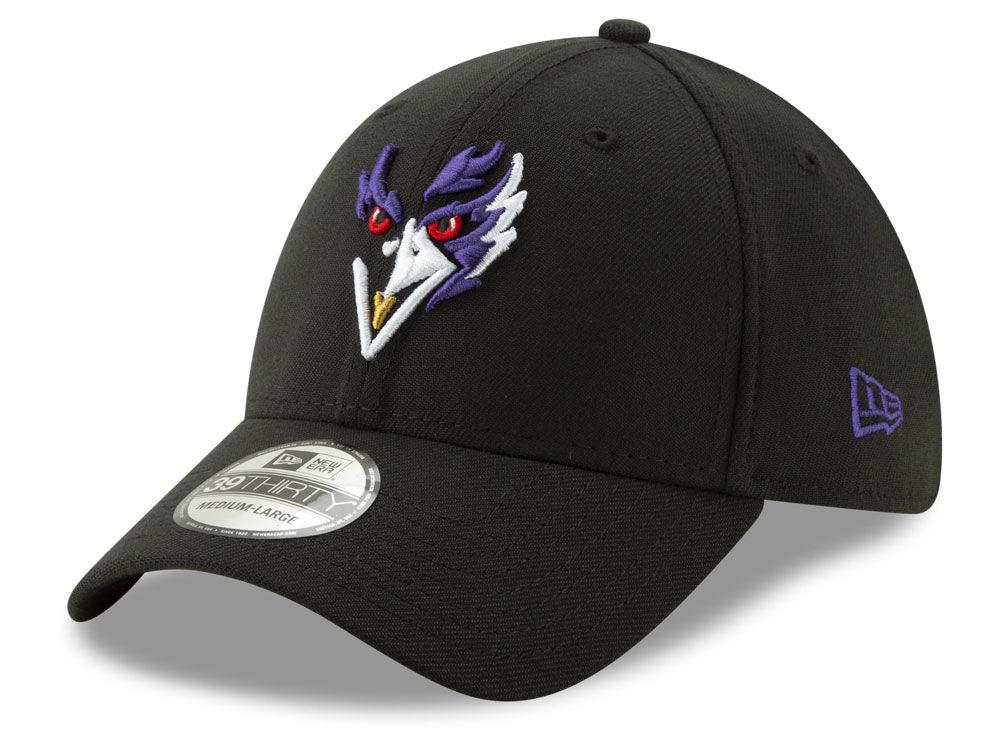 Baltimore Ravens New Era NFL Logo Elements Collection 39THIRTY Cap ... 5622aaf76