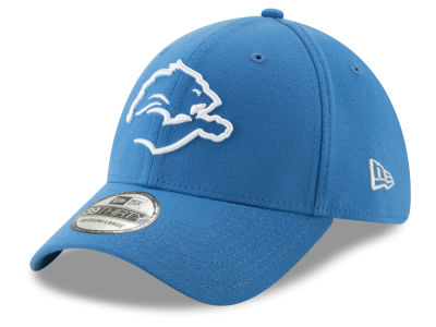Detroit Lions New Era NFL Logo Elements Collection 39THIRTY Cap