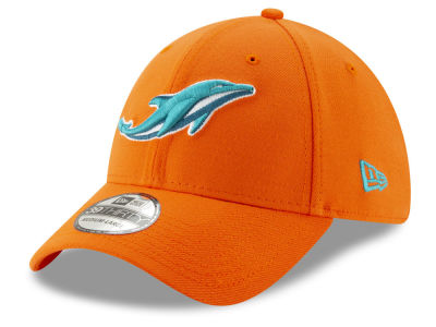Miami Dolphins New Era NFL Logo Elements Collection 39THIRTY Cap