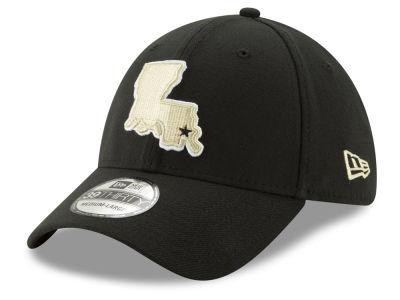 New Orleans Saints New Era NFL Logo Elements Collection 39THIRTY Cap