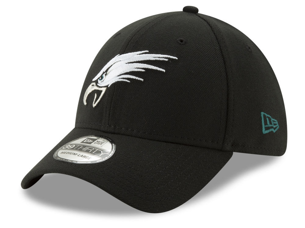 Philadelphia Eagles New Era NFL Logo Elements Collection 39THIRTY Cap  9fb161341b8