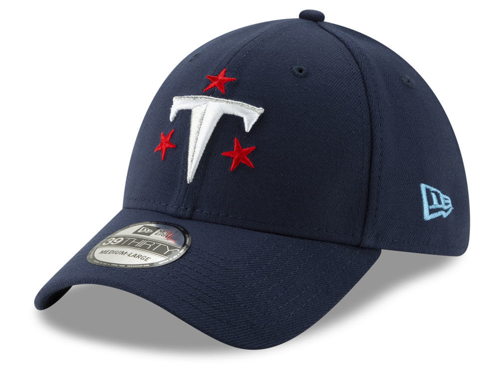Tennessee Titans New Era NFL Logo Elements Collection 39THIRTY Cap ... 8e18b1d60
