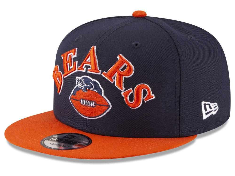 ee70bbf1e5961c ... czech chicago bears new era nfl retro logo 9fifty snapback cap c21e1  c03bb