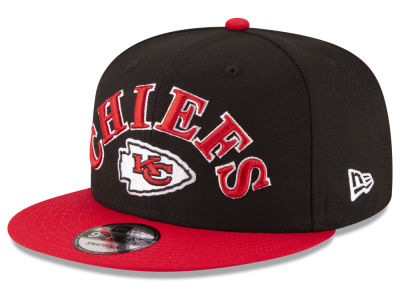 Kansas City Chiefs New Era NFL Retro Logo 9FIFTY Snapback Cap