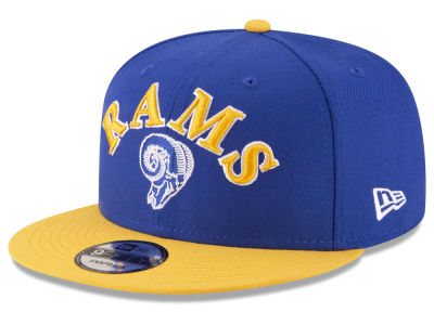 Los Angeles Rams New Era NFL Retro Logo 9FIFTY Snapback Cap
