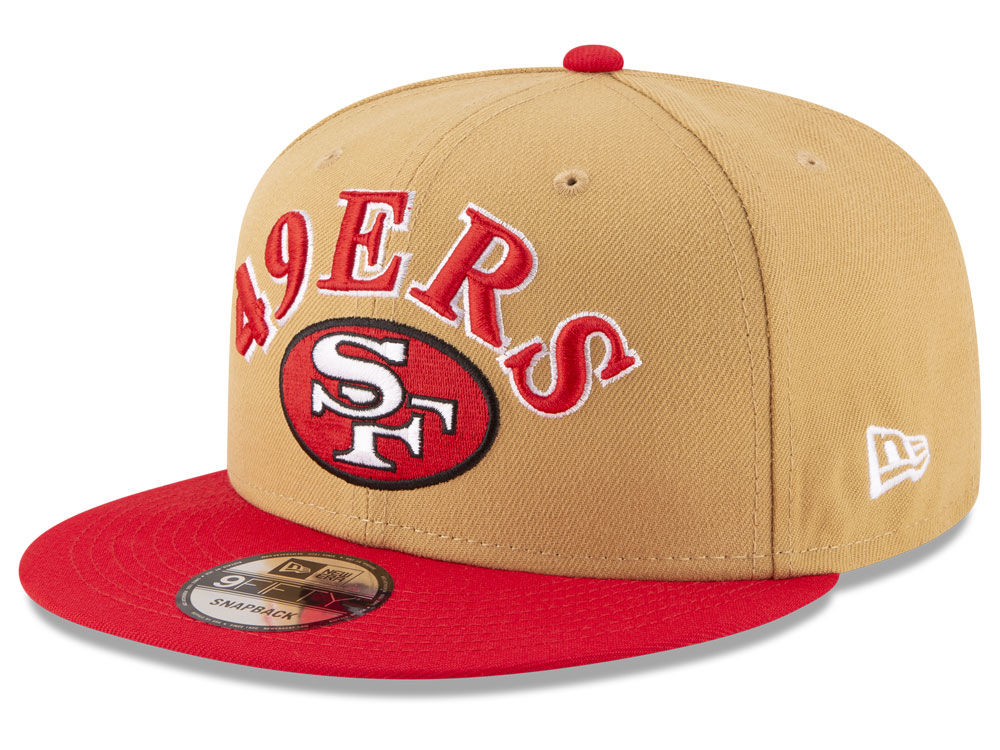 San Francisco 49ers New Era NFL Retro Logo 9FIFTY Snapback Cap ... aa47a3c71