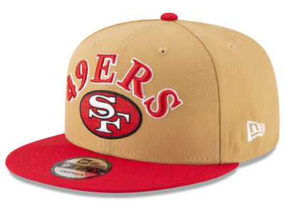 San Francisco 49ers New Era NFL Retro Logo 9FIFTY Snapback Cap