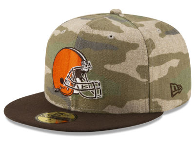 Cleveland Browns New Era NFL Vintage Camo 59FIFTY Cap