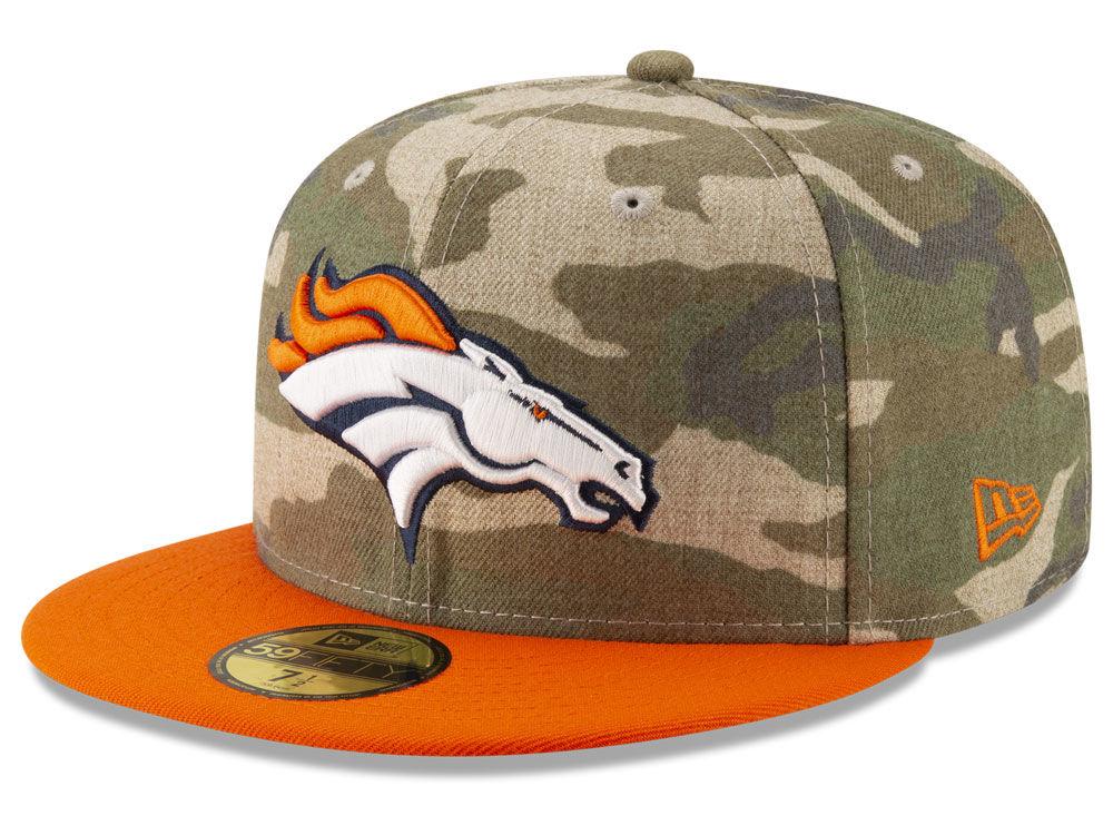 Denver Broncos New Era NFL Vintage Camo 59FIFTY Cap  834c71a0e