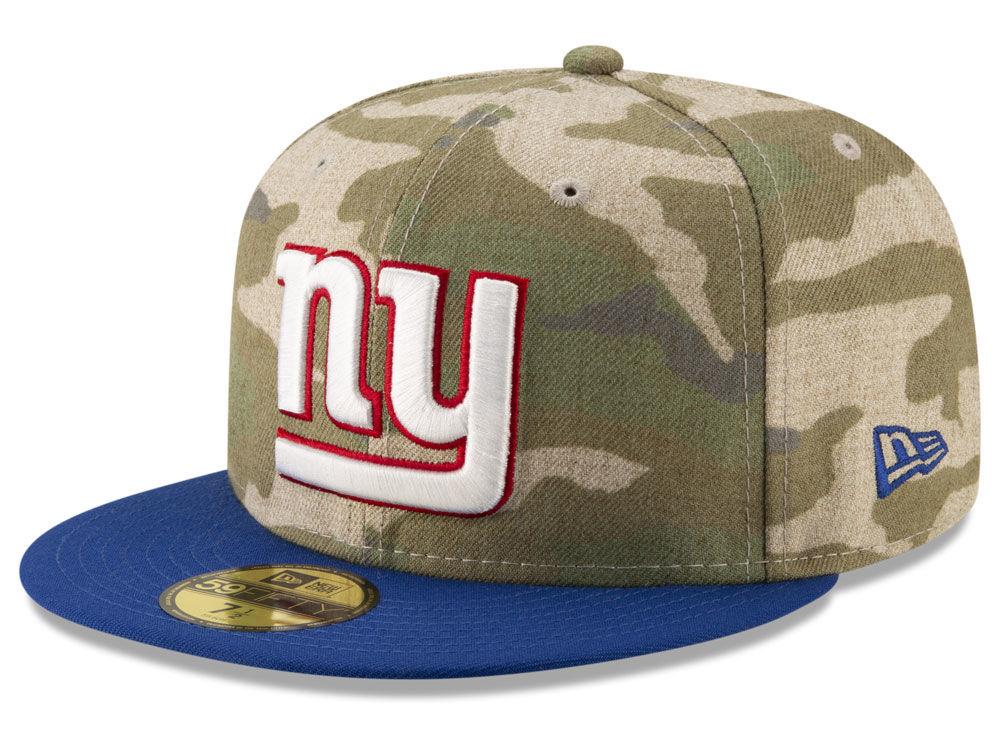 3e99dfb5a New York Giants New Era NFL Vintage Camo 59FIFTY Cap