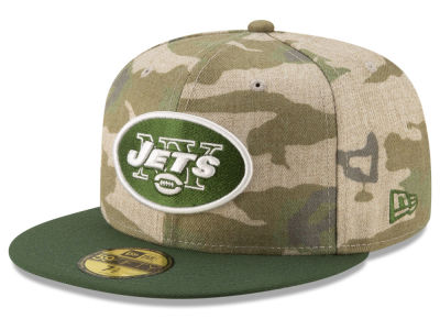 New York Jets New Era NFL Vintage Camo 59FIFTY Cap ca2e94d9595