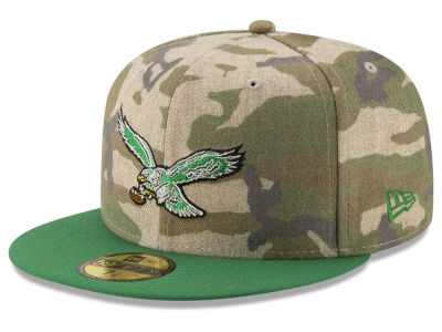 Philadelphia Eagles New Era NFL Vintage Camo 59FIFTY Cap
