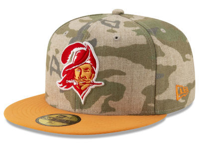 Tampa Bay Buccaneers New Era NFL Vintage Camo 59FIFTY Cap