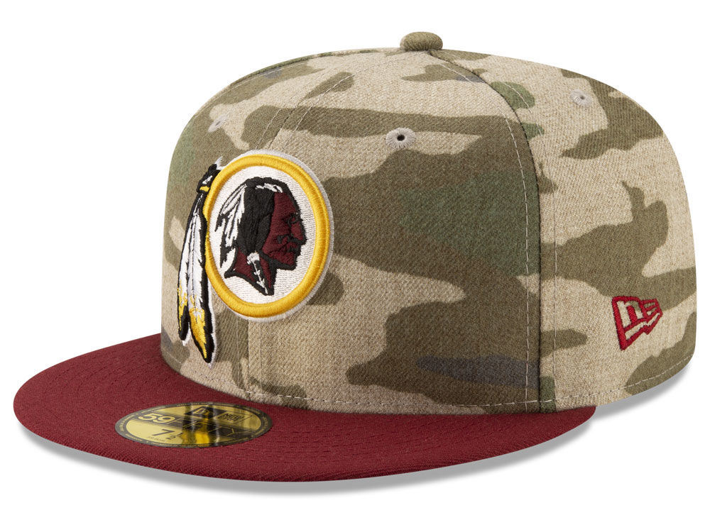 Washington Redskins New Era NFL Vintage Camo 59FIFTY Cap  41e7f2390