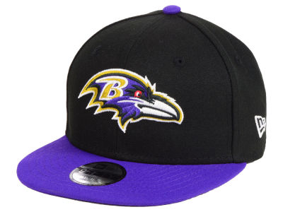 Baltimore Ravens New Era NFL Kids Two Tone 9FIFTY Snapback Cap