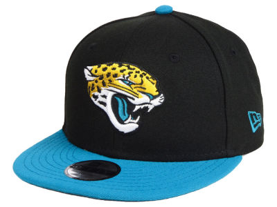 Jacksonville Jaguars New Era NFL Kids Two Tone 9FIFTY Snapback Cap