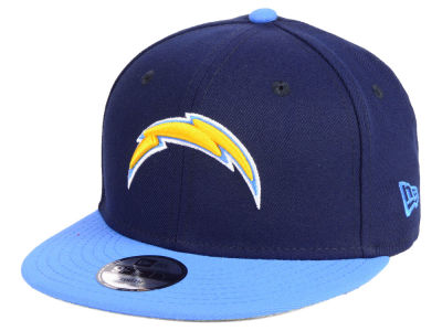 Los Angeles Chargers New Era NFL Kids Two Tone 9FIFTY Snapback Cap