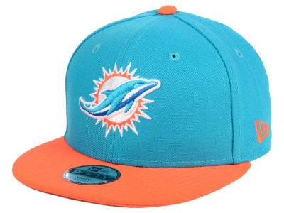 Miami Dolphins New Era NFL Kids Two Tone 9FIFTY Snapback Cap