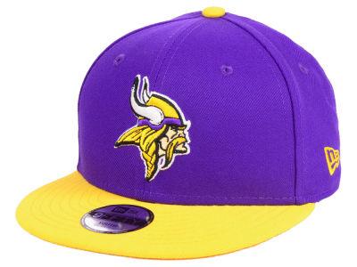 4f3a07422 Minnesota Vikings New Era NFL Kids Two Tone 9FIFTY Snapback Cap