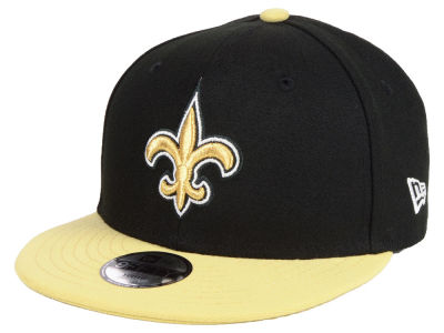 New Orleans Saints New Era NFL Kids Two Tone 9FIFTY Snapback Cap